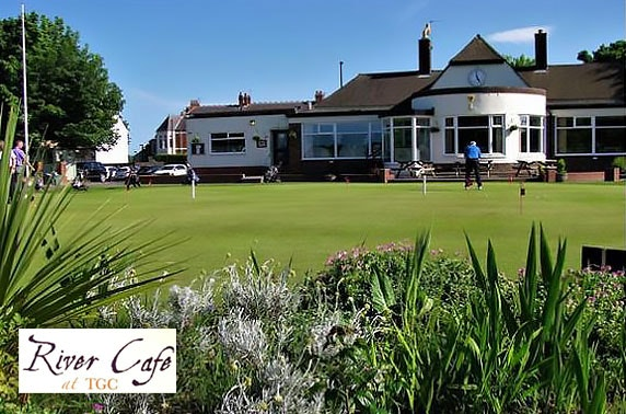 Afternoon tea at River Cafe in Tynemouth Golf Club