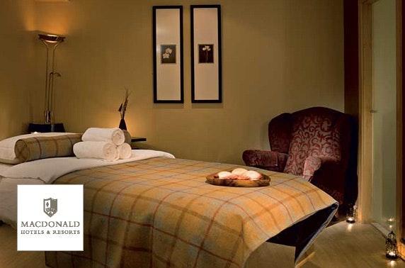 4* Macdonald Marine Hotel spa day
