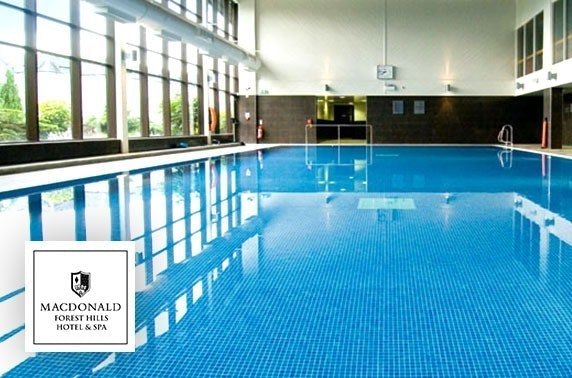 4* Macdonald Forest Hills Hotel spa day