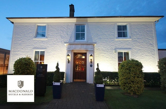 4* Macdonald Crutherland House Hotel spa day