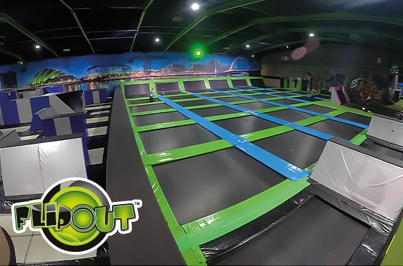 Jump session at Flip Out