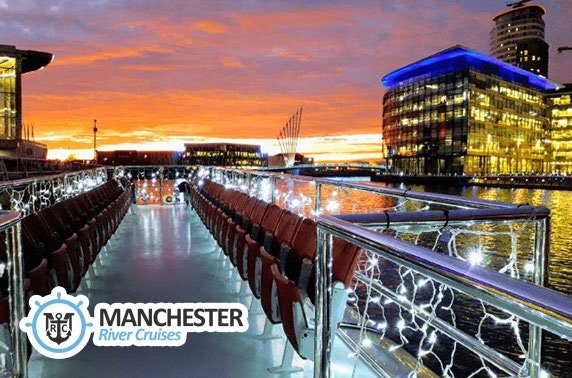 Manchester sightseeing river cruise