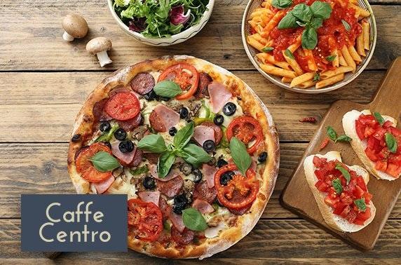 Caffe Centro dining, George Street