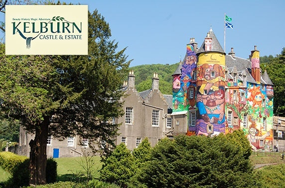 The Wizard of Oz trail, Kelburn Castle