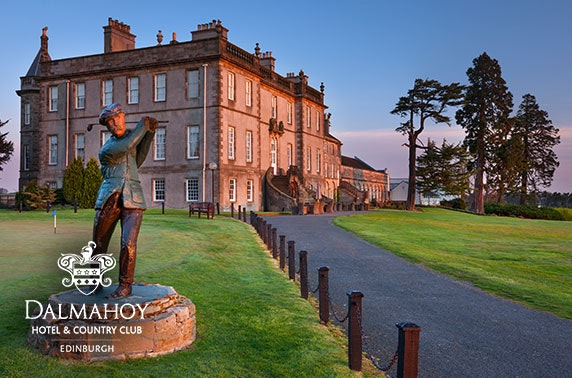 4* Dalmahoy gentleman's afternoon tea