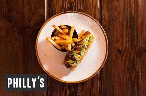 Philly's dining & drinks - from £5pp