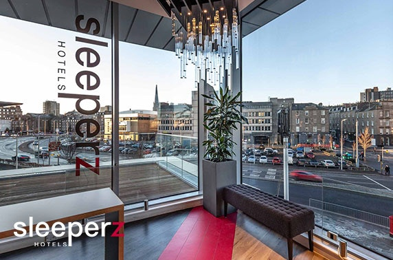 Award-winning Sleeperz Dundee stay from £49
