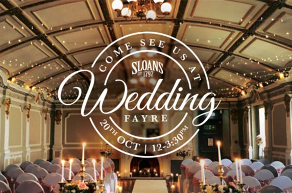 Sloans Wedding Fayre, City Centre