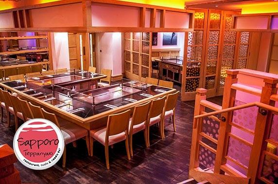 Sapporo Teppanyaki, Merchant City - £12.50pp