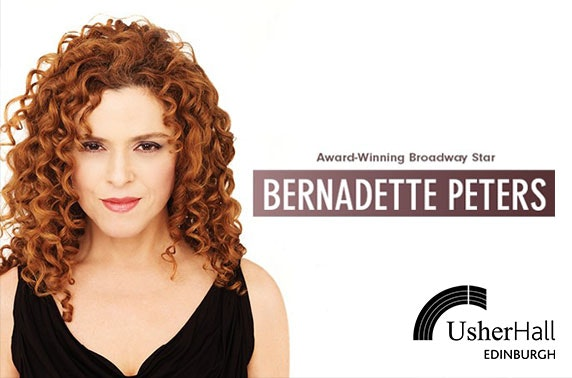 Broadway star Bernadette Peters live, Usher Hall