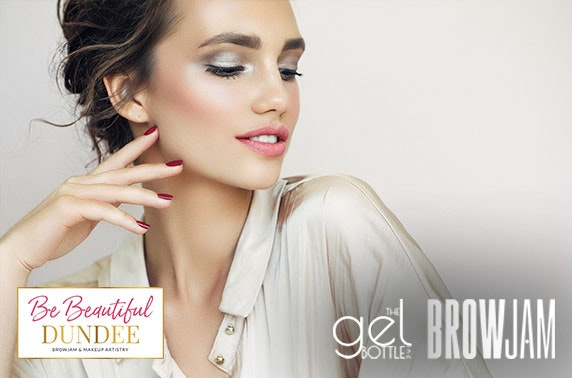 Brows, gel manicure or makeup at Be Beautiful, City Centre