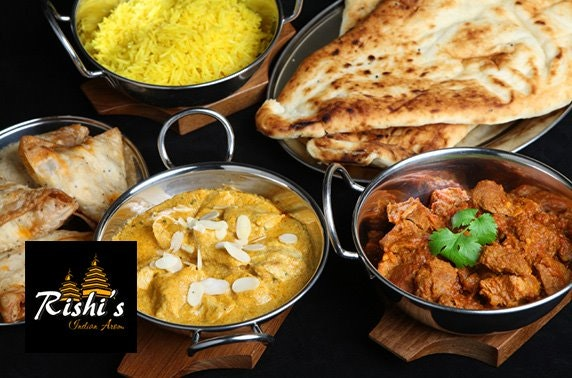 Rishi's Indian dining - £6pp