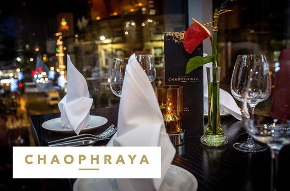 Chaophraya private Prosecco dining - £25pp