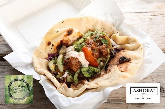 Indian street food on Ashton Lane - £2pp!