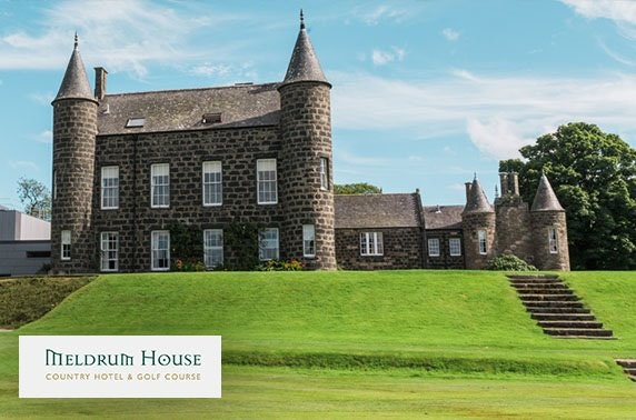 4* Meldrum House Country Hotel breakfast or lunch