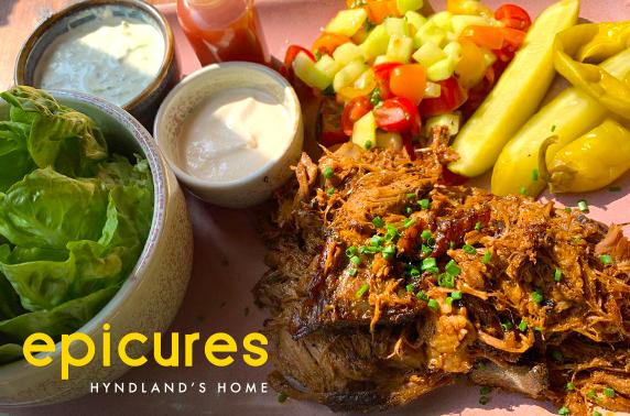Dining at newly refurbished epicures, Hyndland