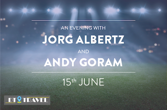 An Evening with Jorg Albertz and Andy Goram at The Wee Rangers Club