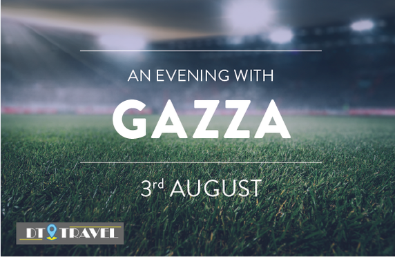 An Evening with Gazza at Glasgow Royal Concert Hall
