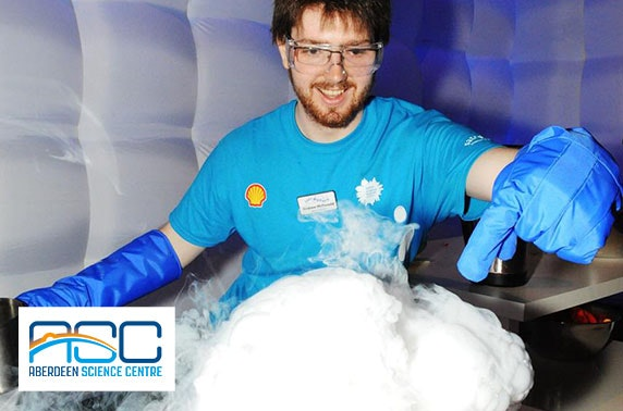 Aberdeen Science Centre tickets - from £2.25pp