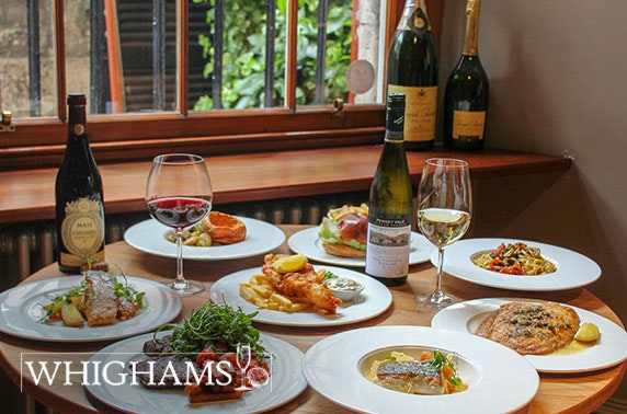 Whighams Wine Cellars dining & wine