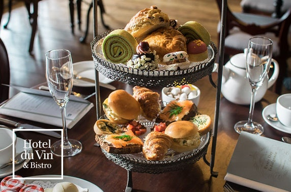 4* Hotel du Vin afternoon or cream tea, St Andrews