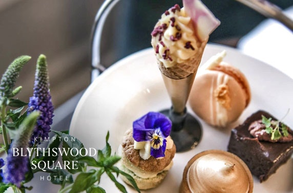 5* Blythswood Square luxury afternoon tea