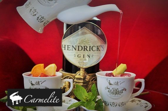 Carmelite afternoon tea & gin teapots