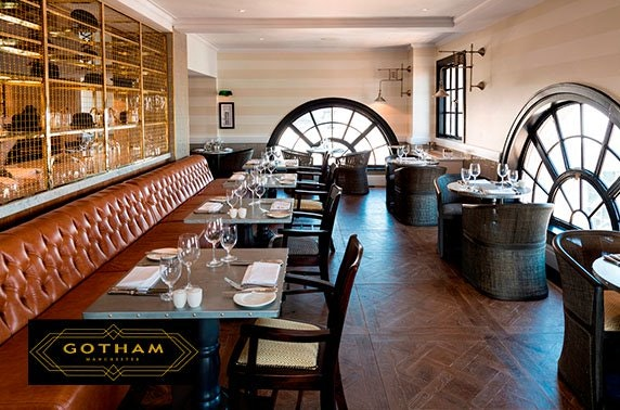 5* Hotel Gotham dining & cocktails