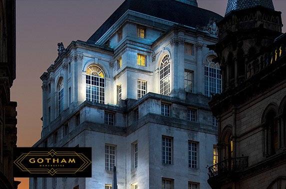 5* Hotel Gotham dining & cocktails