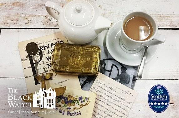 5* The Black Watch Castle and Museum tour & cream tea
