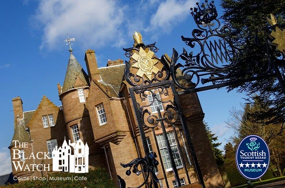 5* The Black Watch Castle and Museum tour & cream tea