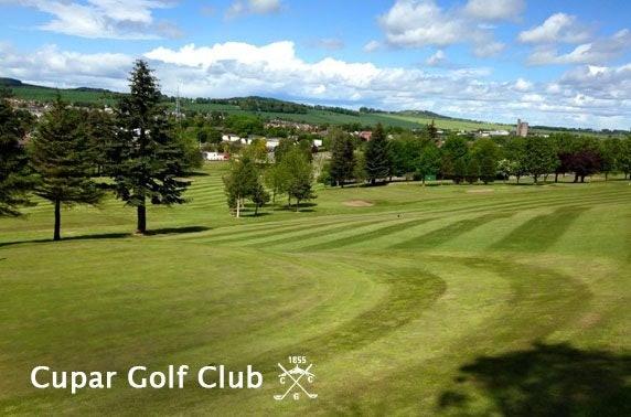 18 holes at Cupar Golf Club