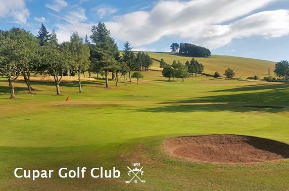 18 holes at Cupar Golf Club