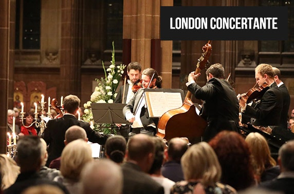Vivaldi Four Seasons by candlelight at Manchester Cathedral