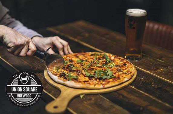 BrewDog Union Square pizza & drinks