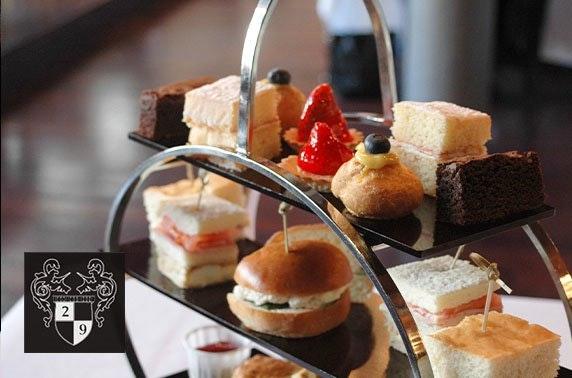 Award-winning afternoon tea, Royal Exchange Sq