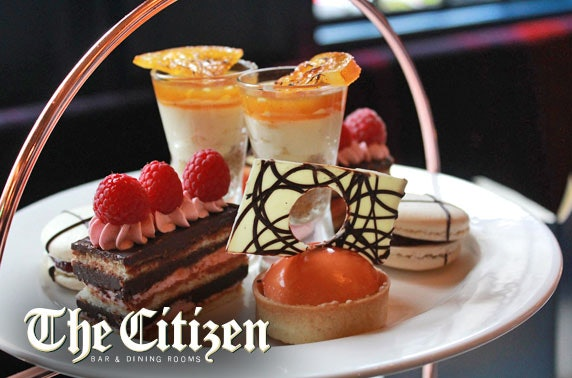 The Citizen afternoon tea