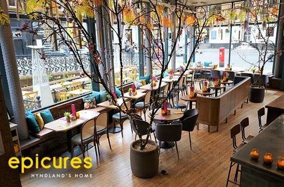 Dining at recently refurbished epicures, Hyndland
