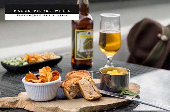 Marco Pierre White dinner & overnight - valid until Jan 2021!