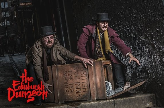 The Edinburgh Dungeon unlimited annual pass