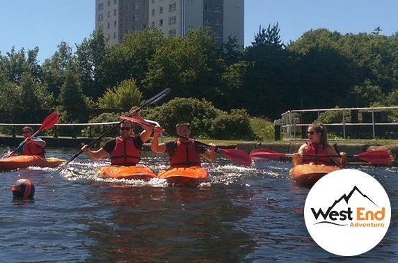 Kayaking or paddle boarding session, Glasgow's West End