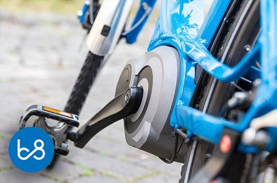 E-bike hire, Bridge 8 Hub