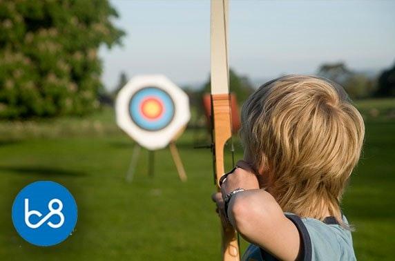 Archery session, Bridge 8 Hub