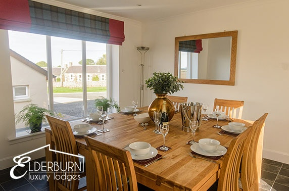 Luxury Lodges, St Andrews – from £24ppn