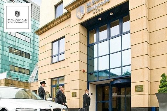 4* Macdonald Holyrood Hotel stay