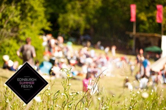 Edinburgh Summer Fiesta, Princes Street Gardens