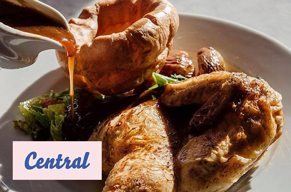 3 course Sunday lunch and wine, Central Oven & Shaker