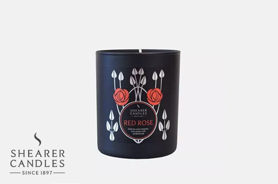 Shearer Candles Mackintosh collection