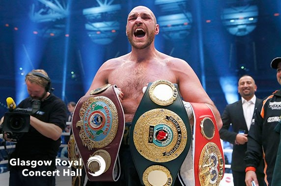 An Evening with Tyson Fury at Glasgow Royal Concert Hall