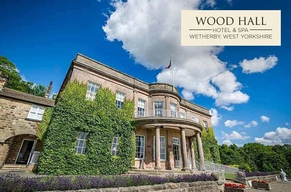 4* Wood Hall Hotel & Spa getaway, West Yorkshire